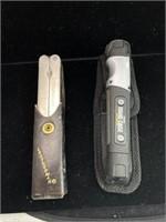 Leatherman Multi tool and Hard case flashlight
