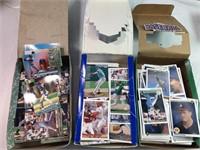 1990, 1992, & 1993 collectable baseball cards