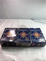 Major league 1992 collectable baseball cards