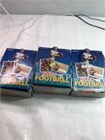 Fleer '93 collectable football cards