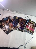 1990s Beckett Basketball magazines