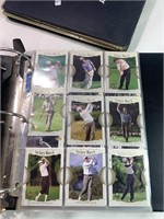 Binder full of golf cards