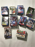 Various Brands of Baseball Cards
