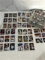 Assorted Baseball Cards in Sleeves