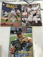 Beckett Baseball Magazines