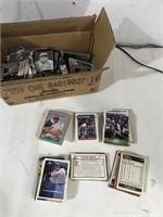 Box of Loose Baseball Cards