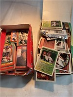 Large lot of assorted football cards
