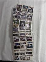 Large lot of assorted upper deck baseball cards