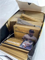 Baseball studio gold and platinum cards