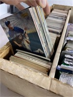 Large lot of assorted baseball and football cards