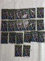 Large lot of deathmate card packs