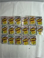 Lot of 1989 official football cars