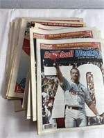 Large lot of baseball newspapers