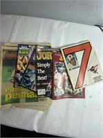 Large lot of sports newspapers and magazines