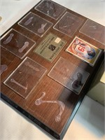 Different vices to store sports cards