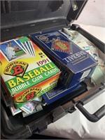 Case of baseball cards