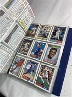 Baseball collectors card album