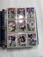 Football collectors card album