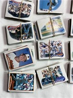 Large lot of assorted baseball cards