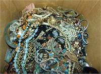 Huge Costume Jewelry Lot.