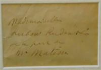 Henri Matisse Letter Signed
