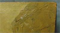Edwin Scott  (1863 - 1929) Oil on Wood.