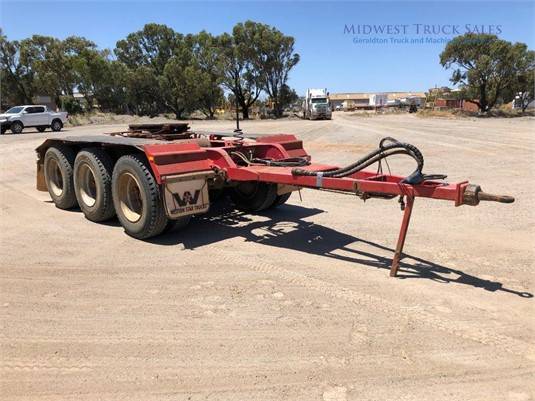 2010 Roadwest Road Train Dolly Midwest Truck Sales - Trailers for Sale