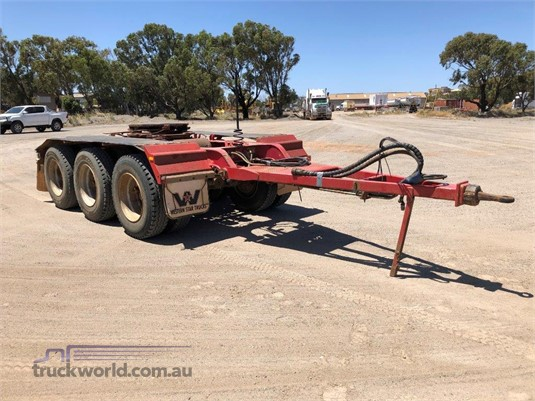 2010 Roadwest Road Train Dolly - Trailers for Sale