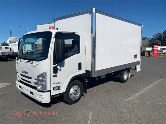 2020 Isuzu NNR 45 150 VanPack Dwyers Truck Centre - Trucks for Sale