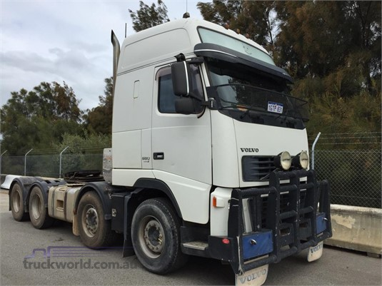 2008 Volvo FH16 Globetrotter XXL Truck Wholesale WA - Trucks for Sale