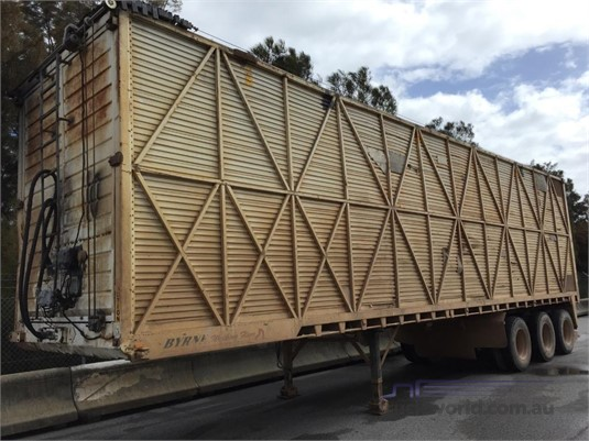 1998 Byrne Walking Floor Trailer Truck Wholesale WA - Trailers for Sale
