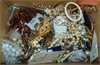 Estate Gold, Silver and Costume Jewelry Lot.