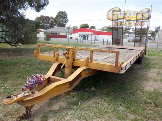 2001 Beavertail Trailers Single Axle Trailer Grays Bendigo - Trailers for Sale
