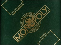 1991 Franklin Mint Wood Monopoly Game