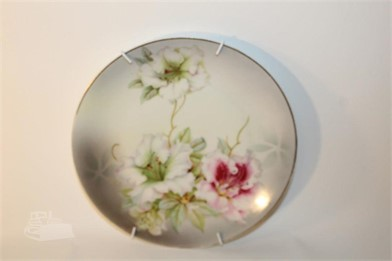 Vintage Pv Vessra Germany Hand Painted Plate Other Items For