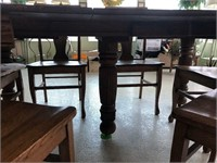 3- Leaf Table & 8 Chairs