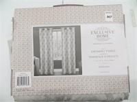 EXCLUSIVE HOME SET OF 2 GROMMET PANELS 54'' X 96''