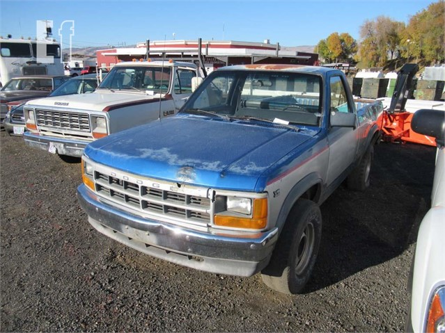 equipmentfacts com 1991 dodge dakota online auctions 1991 dodge dakota