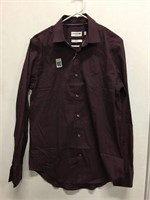LACOSTE MENS LONG SLEEVE SIZE 15 3/4
