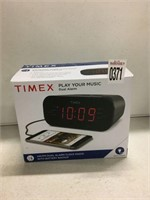 TIMEX AM/FM DUAL ALARM CLOCK