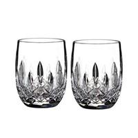 LISMORE TUMBLER/GLASS ROUND 7OZ PAIR