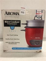 AROMA RICE COOKER 2-6 CUPS