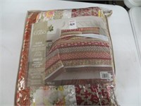 HOME STUDIO 3 PIECE QUILT SET - QUEEN