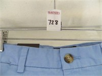 BLACK AND BROWN 1926 MENS SHORTS SIZE 34 (BLUE) SL
