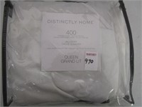 DISTINCTLY HOME 400 THREAD COUNT BED SKIRT QUEEN