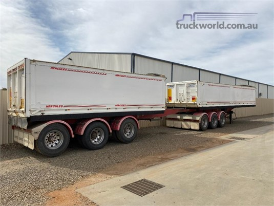 2008 Hercules B-Double Stag Tipper - Trailers for Sale