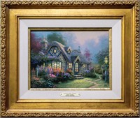 "Art Kinkade ""Candlelight Cottage"" S/N Edition"
