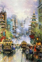"Art Kinkade ""San Francisco, California Street"" 199"