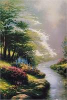 "Art Kinkade ""Petals of Hope"" S/N Edition"