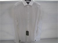 BLACK AND BROWN 1826 MENS WHITE LONG SLEEVE SIZE 1